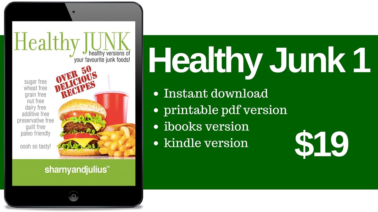 Healthy junk cookbooks by sharny and julius kieser an error occurred forumfinder Gallery